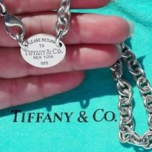 """Tiffany & Co. """"Return to Tiffany's"""" Choker Necklac"""